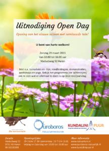 Open Dag Natuurtuin 2015